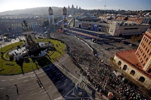 Павел Уваров о марафоне в Барселоне