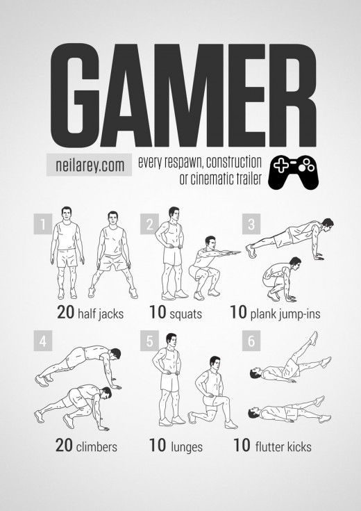 gamer-workout