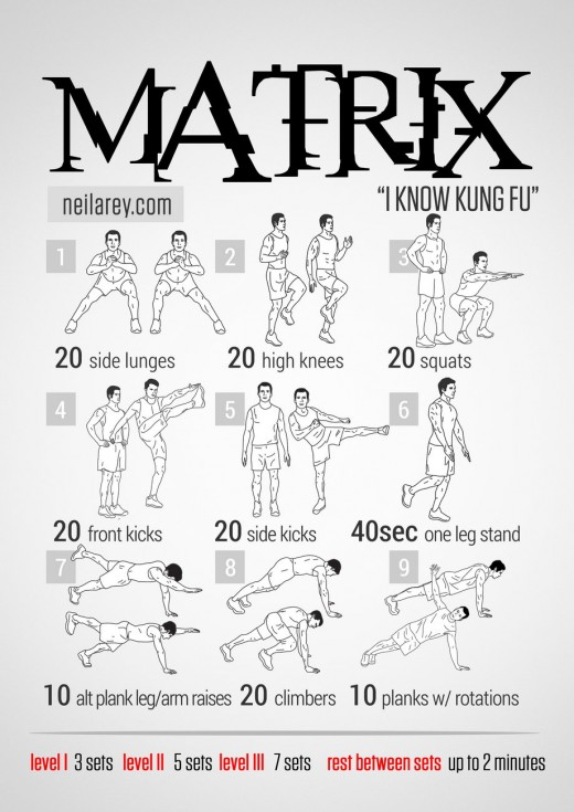 matrix-workout