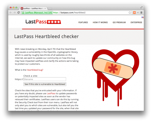 heartbleed lastpass