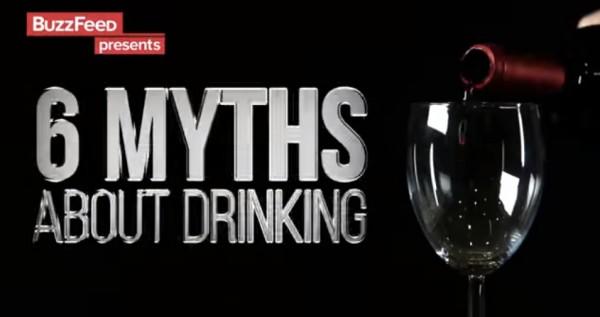 ВИДЕО: 6 мифов об алкоголе