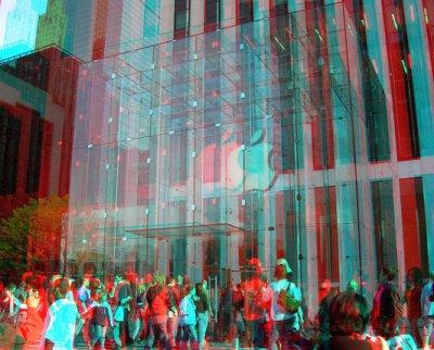 Apple запатентовала голографический 3D-дисплей, управляемый жестами