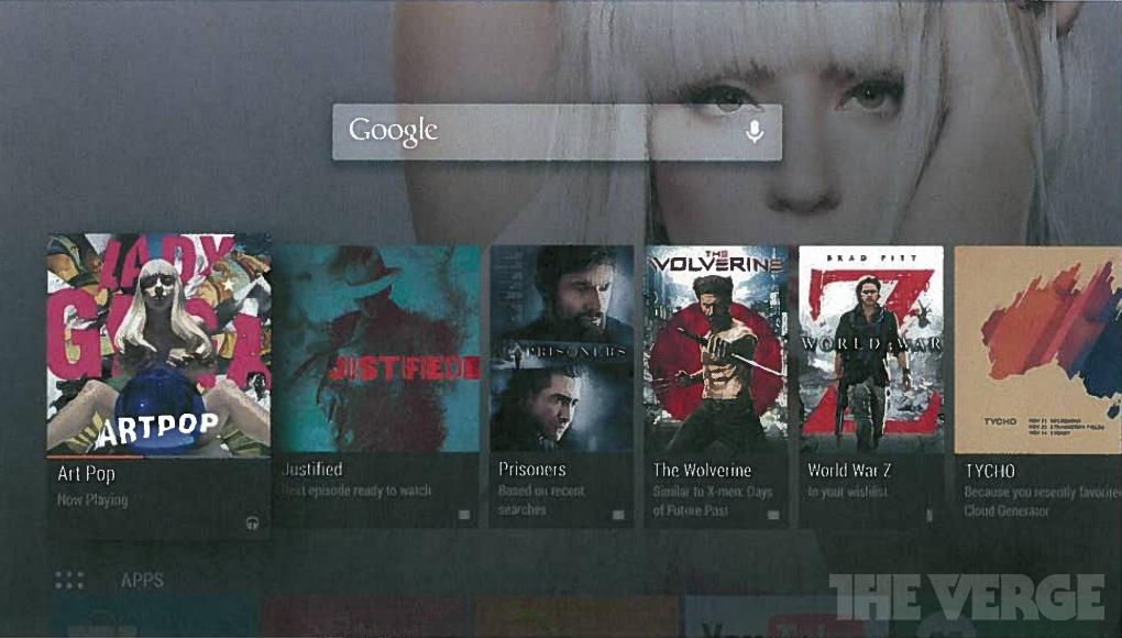 Google собирается представить Android TV