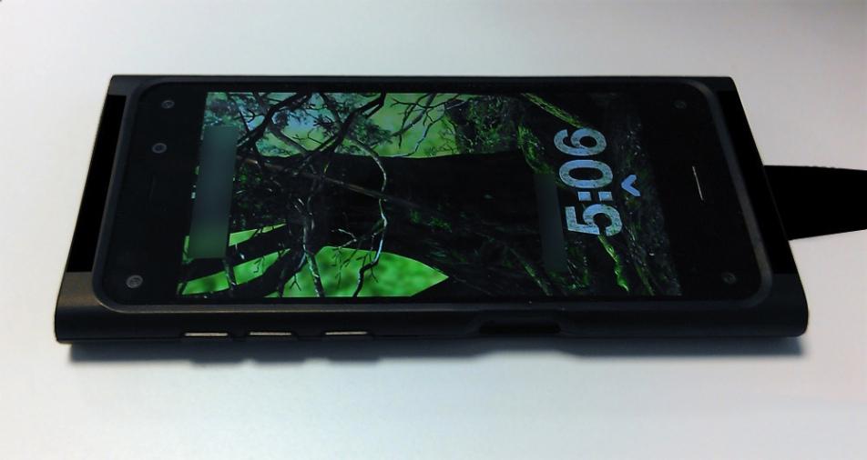 Смартфоном от Amazon можно будет управлять при помощи акселерометра
