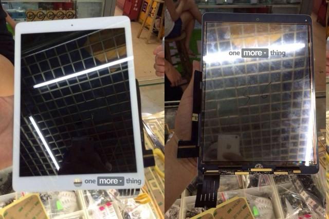 В Сеть утекли фотографии передней панели iPad Air 2 со встроенным LCD-дисплеем