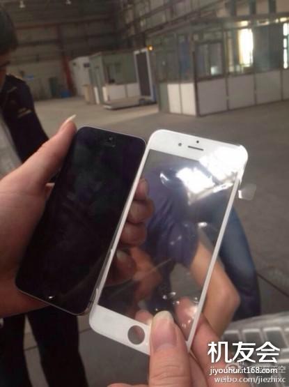 В Сеть слили фотографию передней рамки iPhone 6