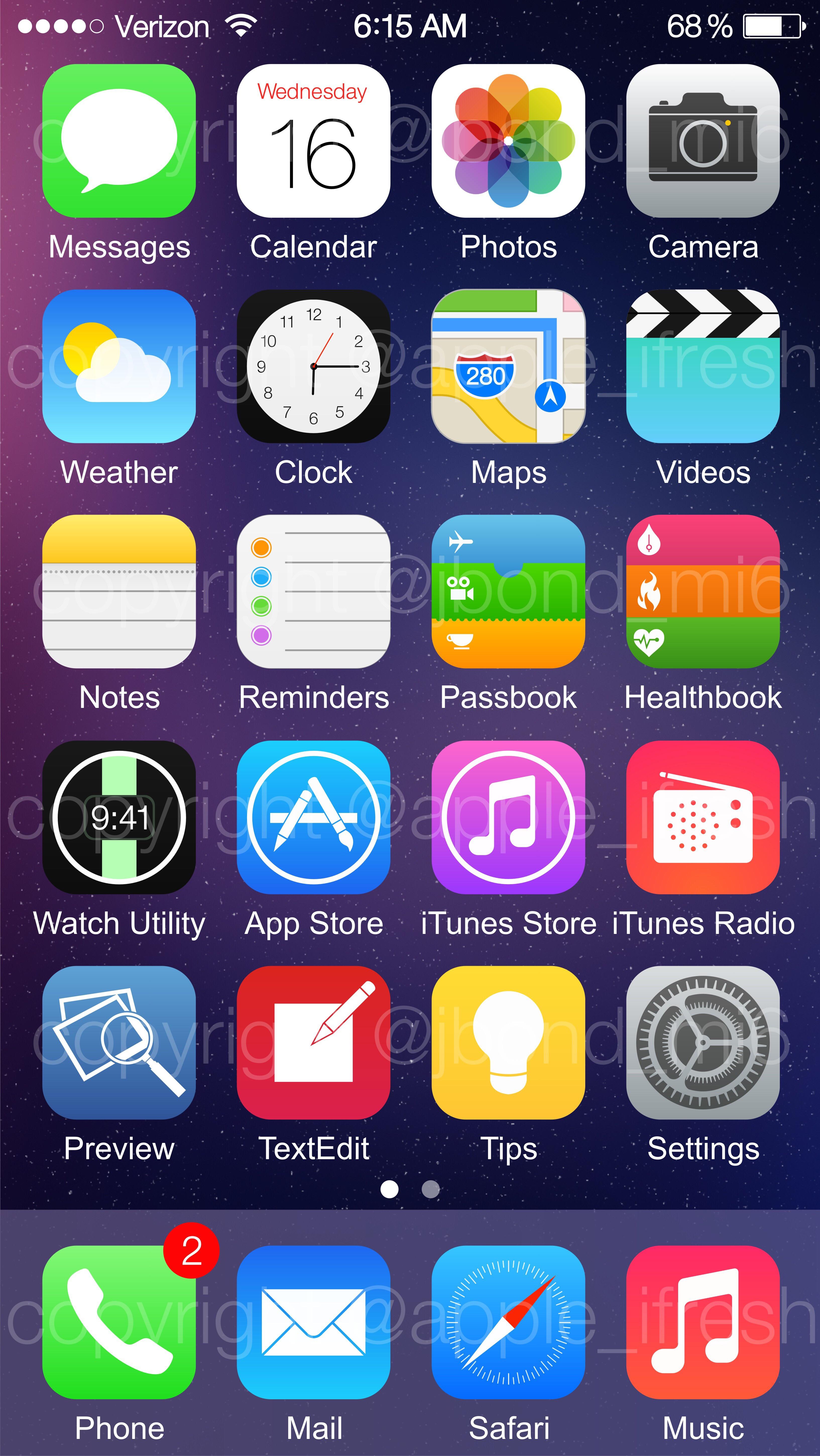 Ios 8 звонящего на весь экран как сделать