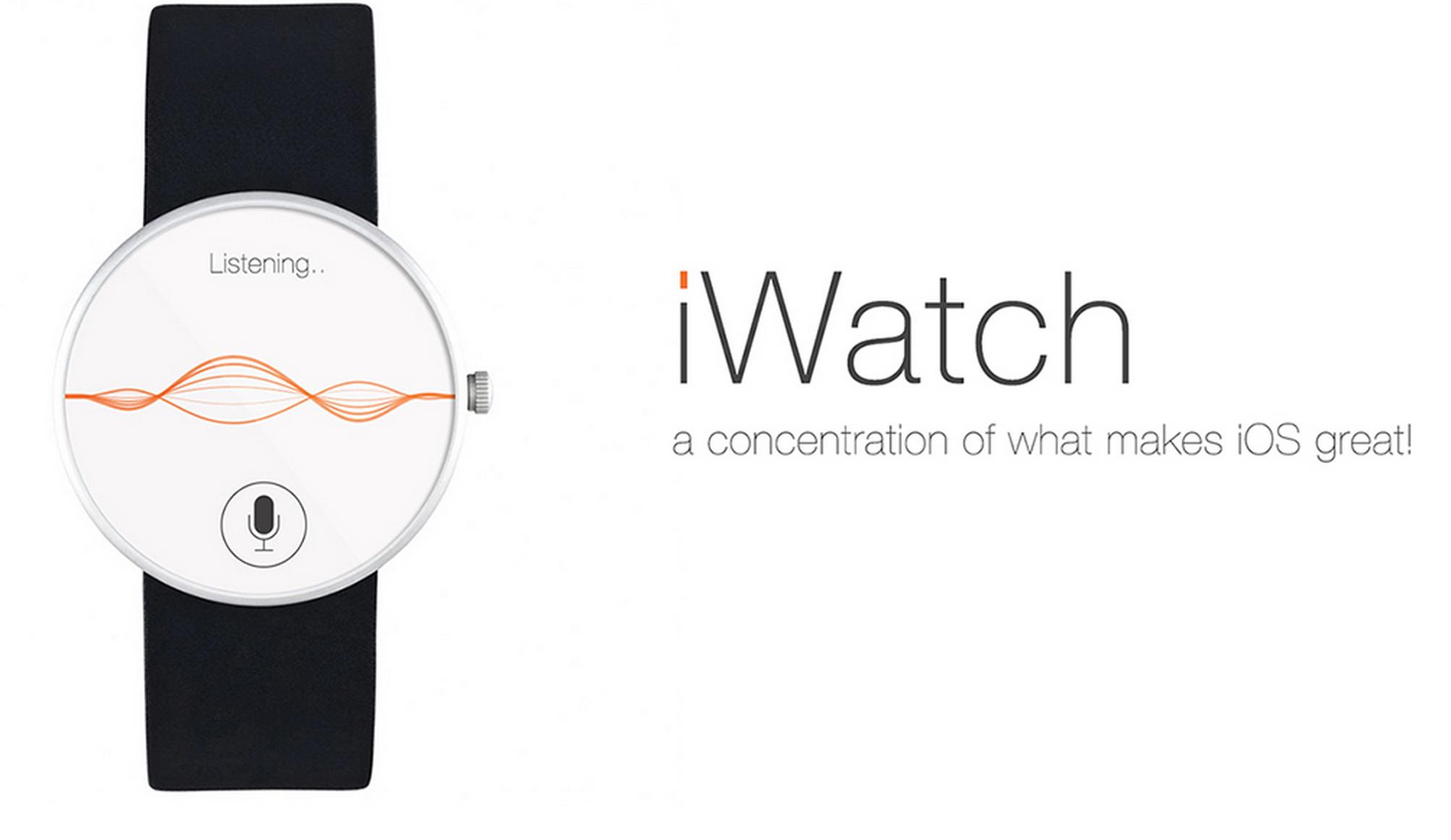 Как могут выглядеть iOS-приложения для iWatch: Siri, Healtbook и другие