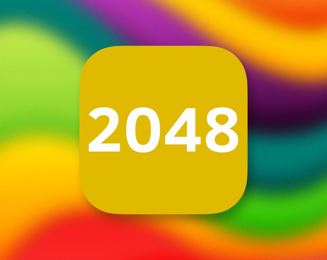 2048: очень увлекательная арифметическая головоломка для iPhone и iPad