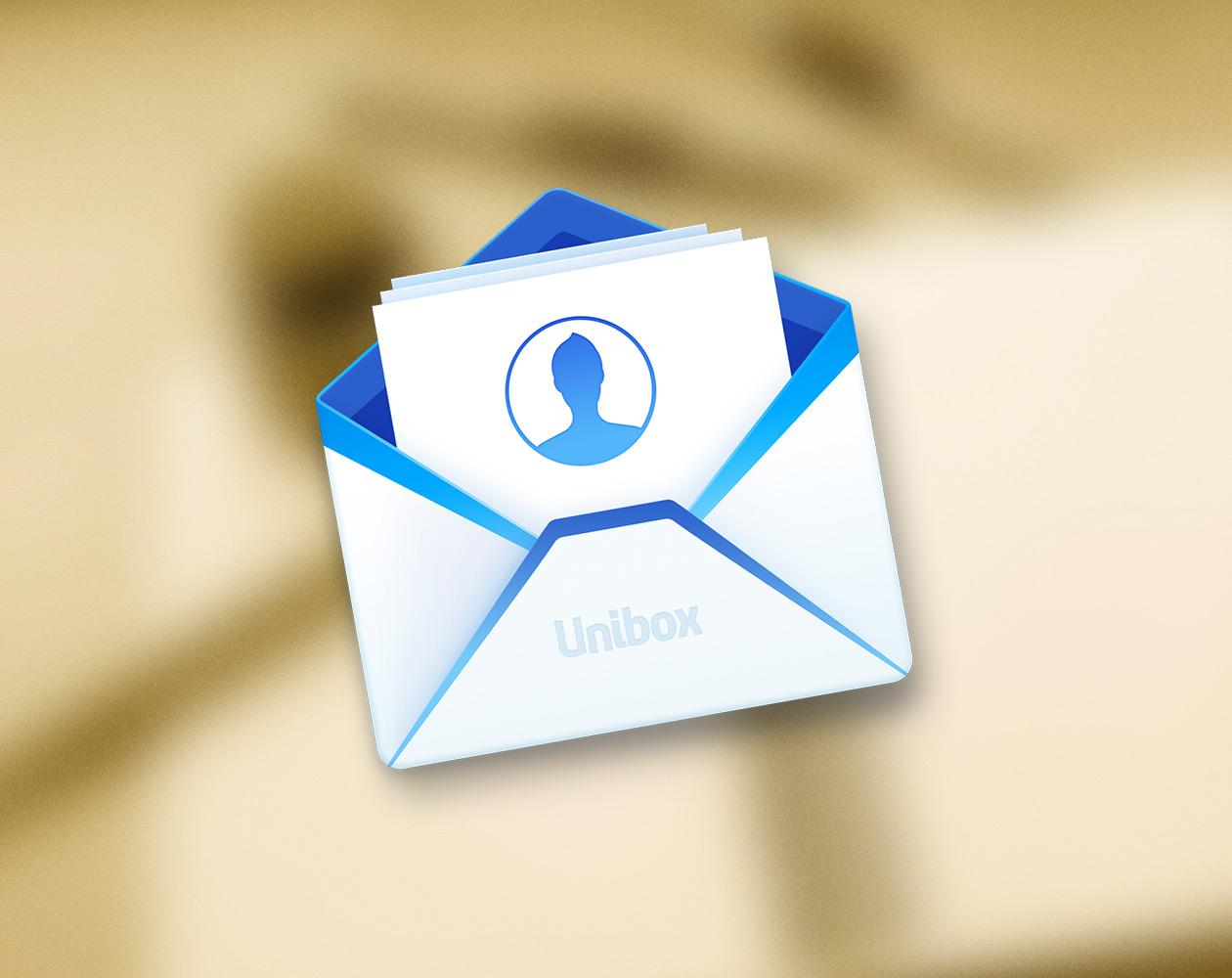 Unibox для Mac позволяет работать по электронной почте с легкостью мессенджера