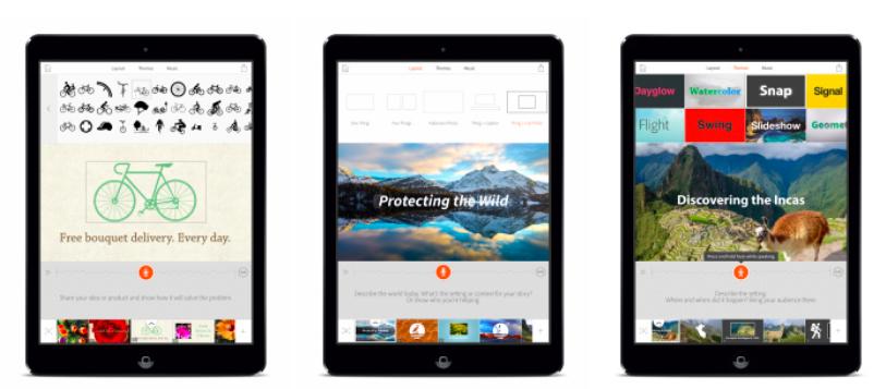 Adobe выпустила новое приложение Voice для создания видеороликов на iPad