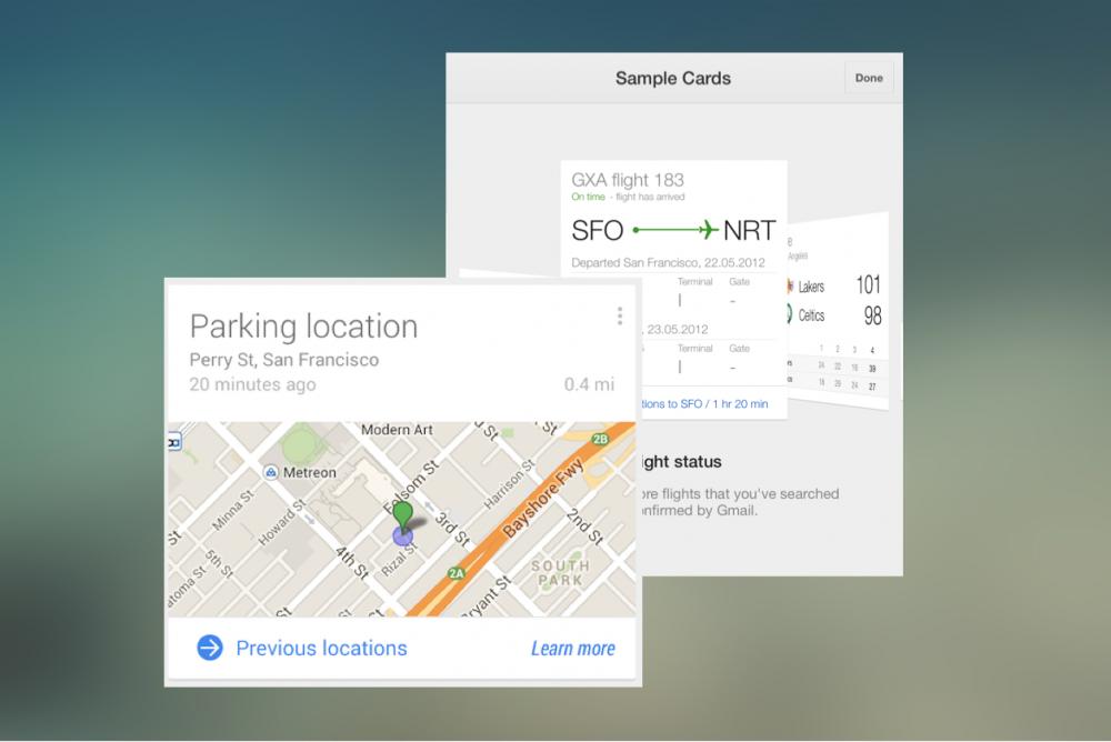 Обновление Google Now: в помощь автомобилистам