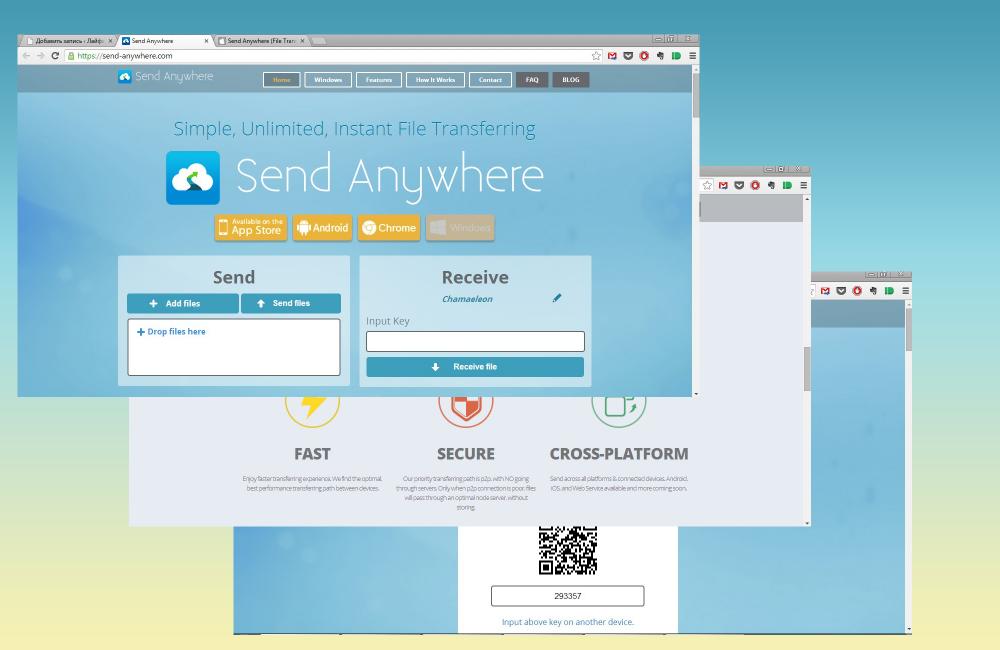 Send Anywhere — самый простой способ передать файл
