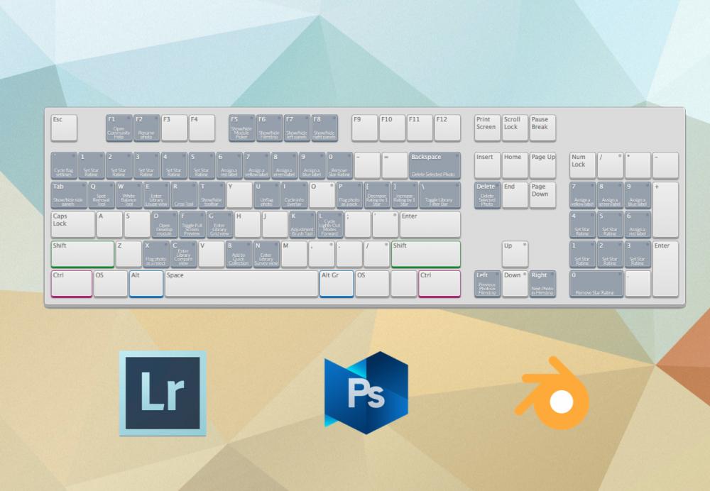 Application Shortcut Mapper — интерактивная шпаргалка