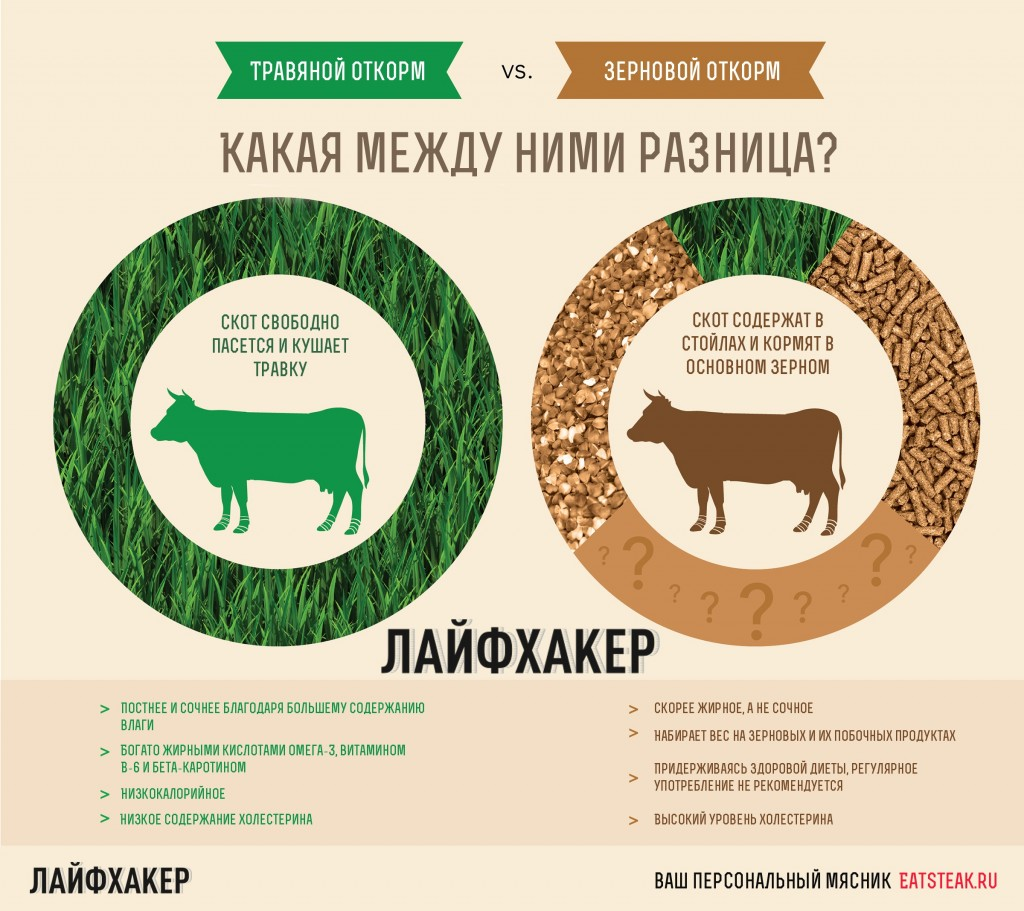 Зерновой откорм против зернового