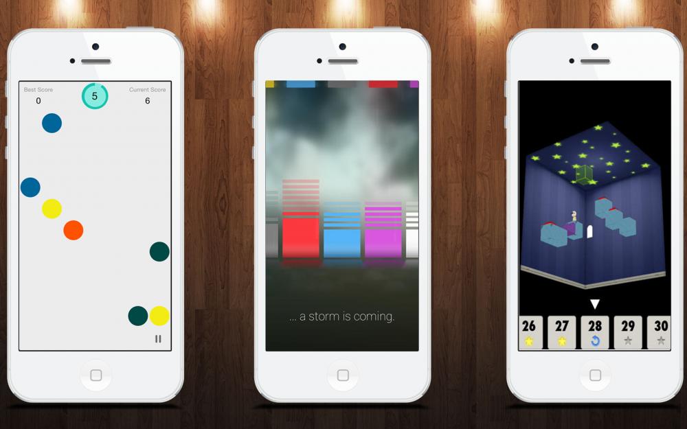 Умные игры для iOS: Percepto, …and then it rained, Endless Memory