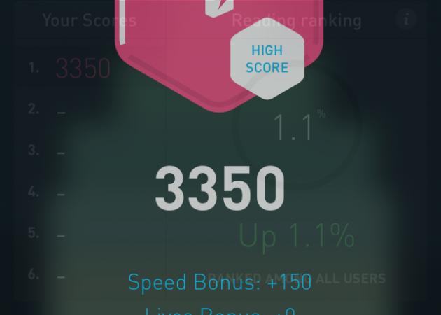 Количество очков