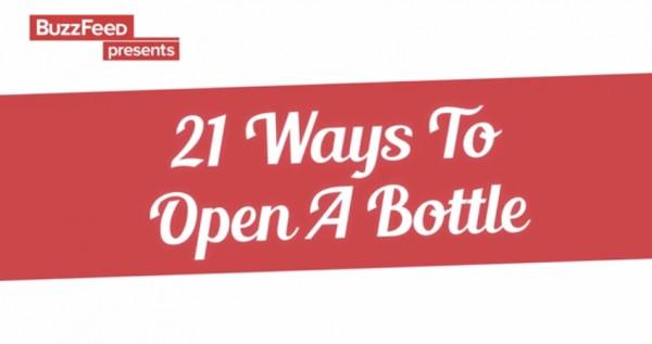 ВИДЕО: 21 способ открыть бутылку пива