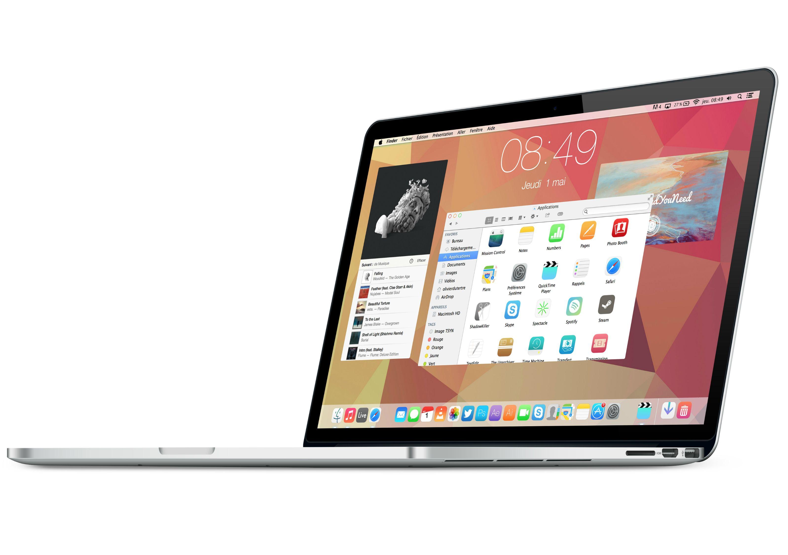 Именно так может выглядеть новая OS X 10.10 (+опрос)