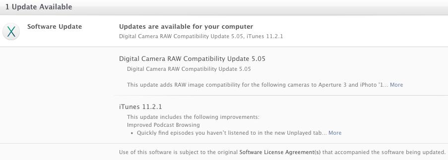 Apple выпустила срочное обновление iTunes
