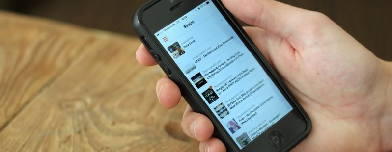 Soundflake — превосходный клиент SoundCloud для iPhone