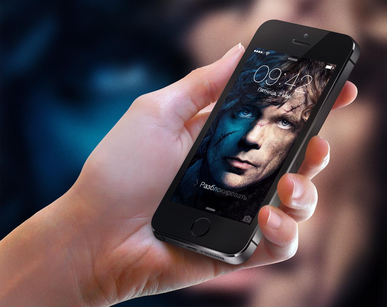 Обои для iPhone 5/5s: «Игра престолов»