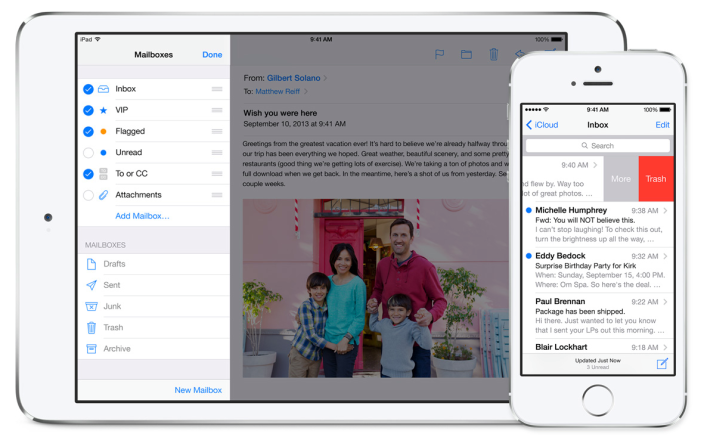 Будьте внимательны: последние версии iOS 7 не шифруют вложения электронной почты