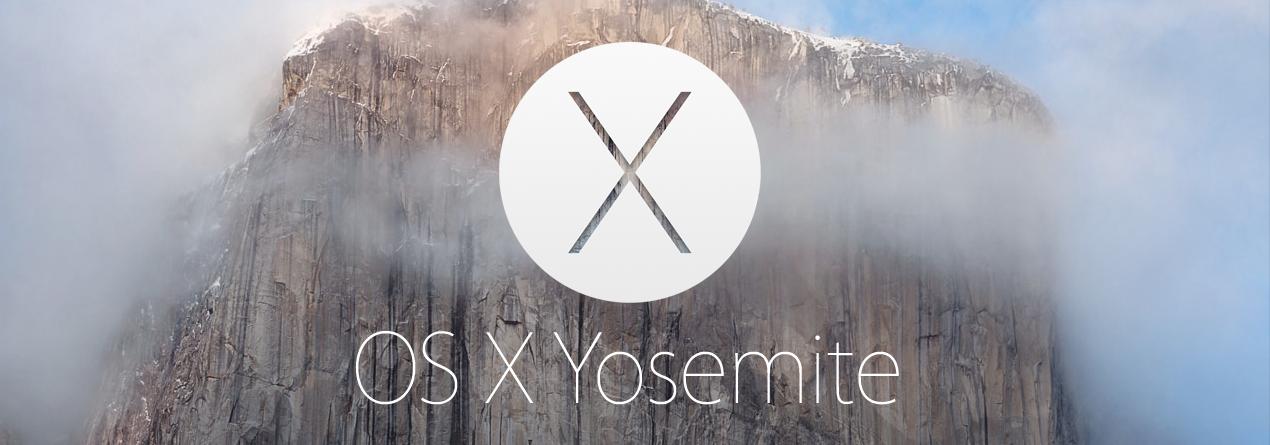 OS X 10.10 Yosemite: первый взгляд