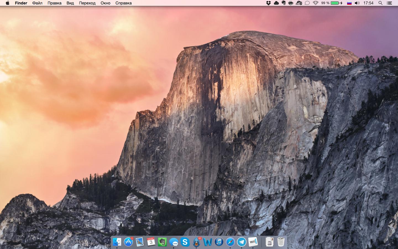Первые впечатления от OS X Yosemite