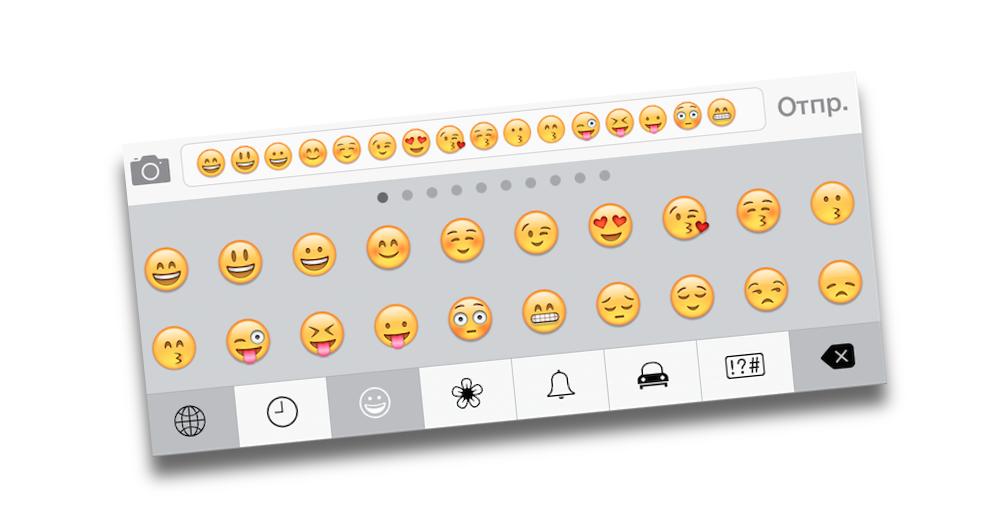 В будущих версиях iOS появятся 250 новых эмодзи-смайлов
