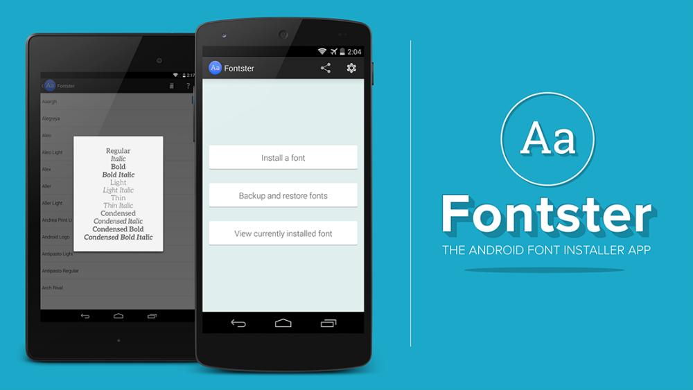 Как изменить шрифт на Android-смартфоне с Fontster