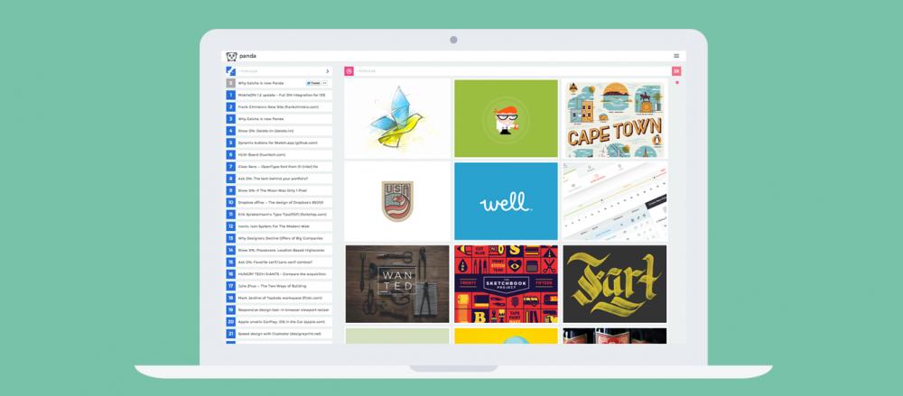 Panda — порция креатива для дизайнеров и программистов