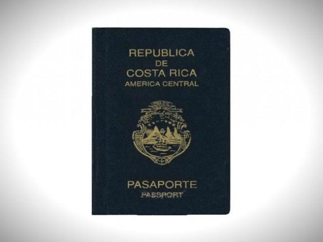 паспорт коста-рики