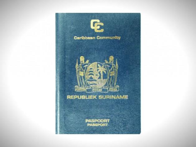 паспорт суринама