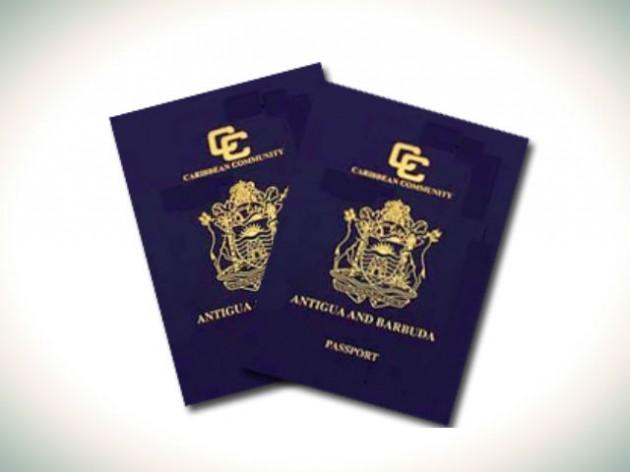 паспорт Антигуа и БАрбуда
