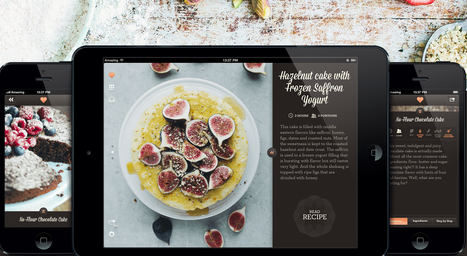 Healthy Desserts — приложение для сладкоежек, которые следят за своим питанием