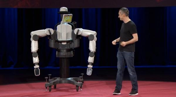 ВИДЕО: Марко Темпест представляет самого дружелюбного робота в мире