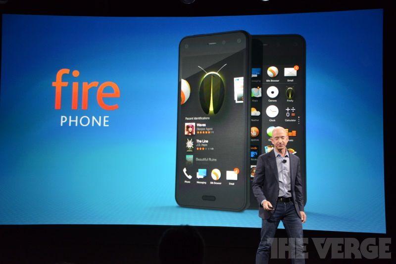 Все, что нужно знать о Fire Phone — первом смартфоне Amazon