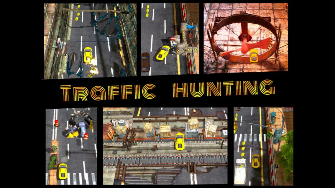 Traffic Hunting —жесткий авто раннер с графикой Unreal Engine и физикой PhysX