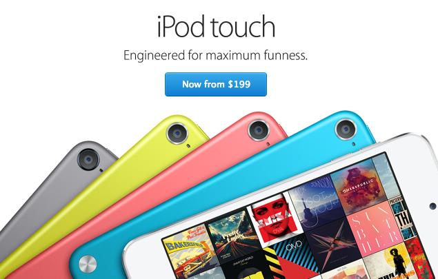 Вышел обновленный iPod Touch на 16 ГБ; 32- и 64- гигабайтные модели сбросили в цене