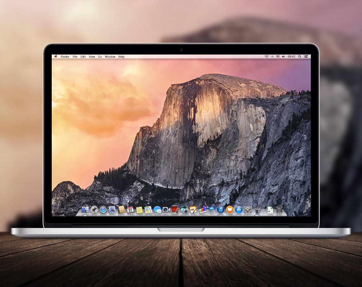 Стандартные обои из OS X 10.10 и iOS 8