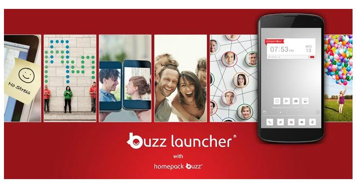 Придайте своему смартфону неповторимый вид с помощью Buzz Launcher