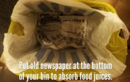 Нет капающим мусорным пакетам