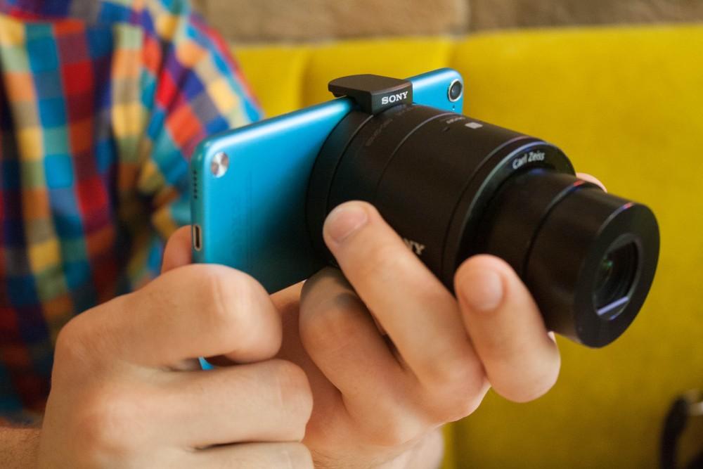 Sony QX100: как за минуту превратить смартфон в крутой фотоаппарат