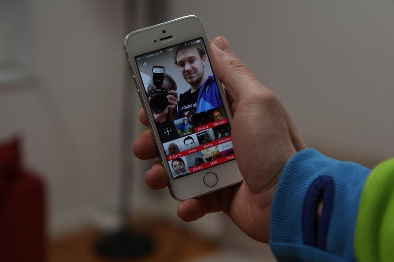 Taptalk для iOS и Android — новый способ общения с друзьями посредством фотографий