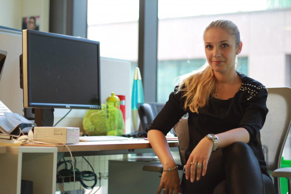 Рабочие места: Нина Левчук, старший аккаунт-менеджер европейского офиса Google