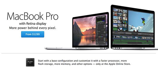 Apple представила Macbook Pro Retina 2014
