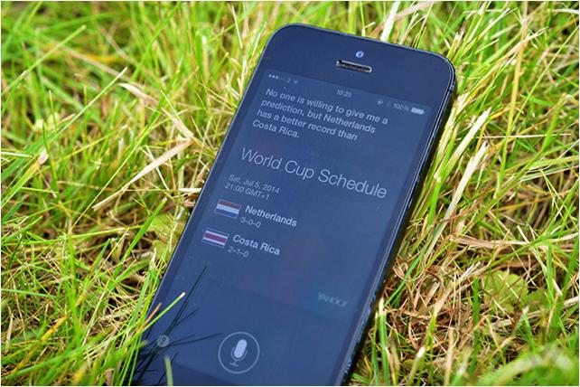 Siri научится предсказывать результаты матчей ЧМ-2014