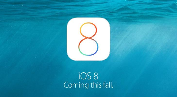 iOS 8 Beta 4 выйдет 21 июля