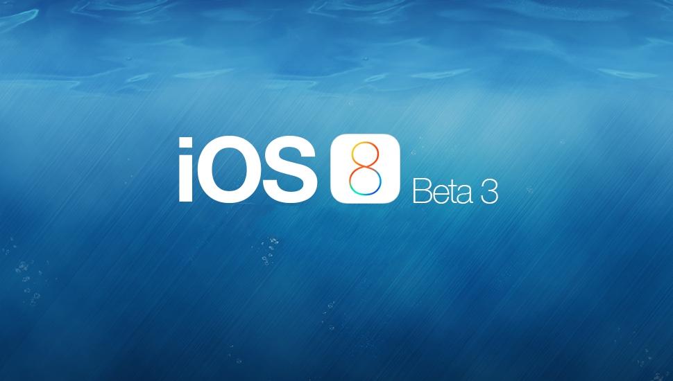iOS 8 beta 3: что нового?